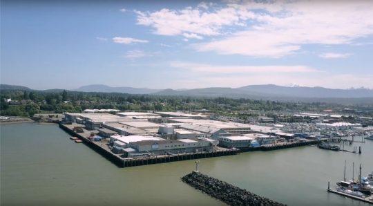 Aerial image of BCS Roeder campus.