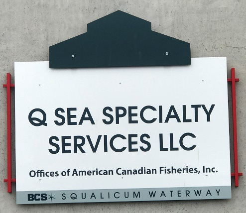 QSea Specialty Services sign