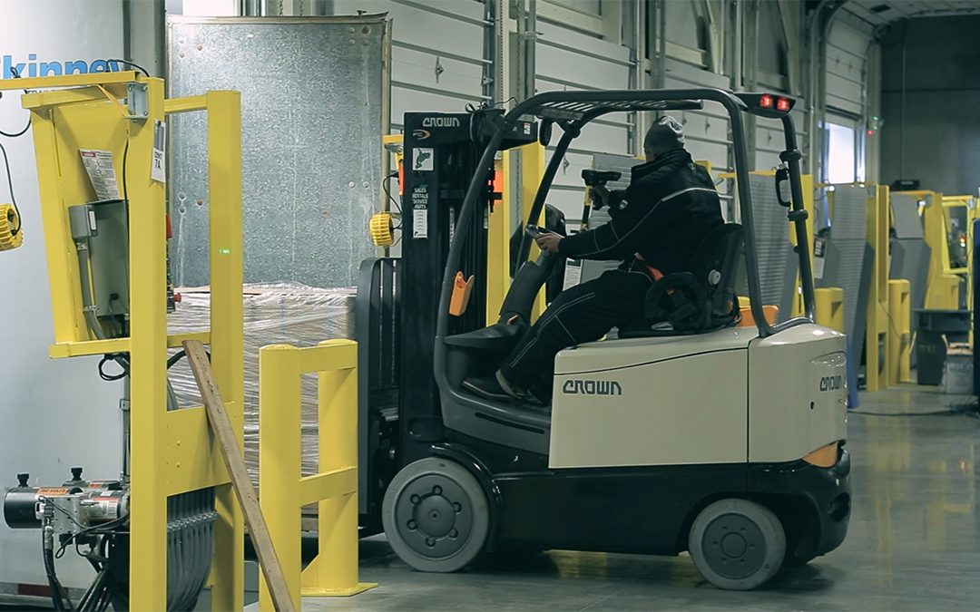 Learn to master a forklift — and get paid for it