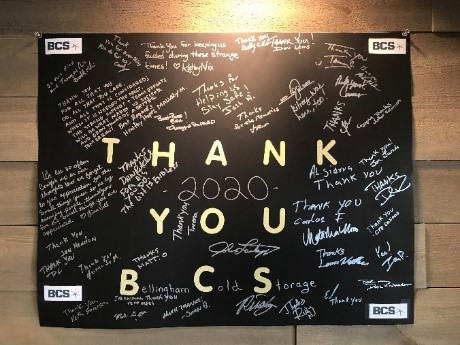 BCS employees offer notes of gratitude during COVID-19 pandemic
