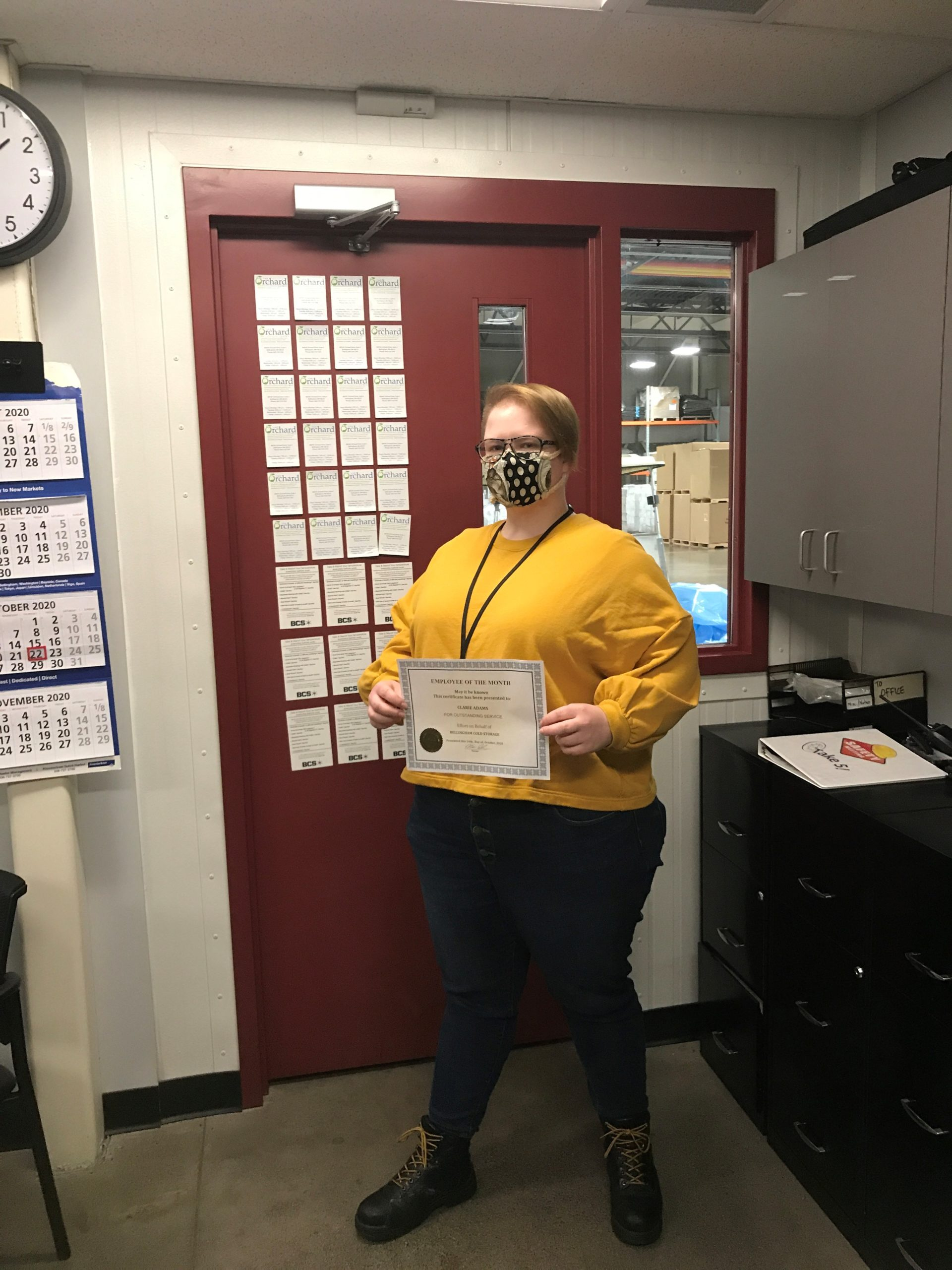 Novemeber's BCS Employee of the Month