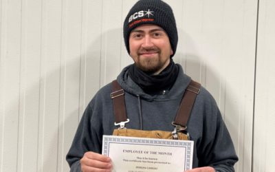 Dorian Canedo – April Employee of the Month