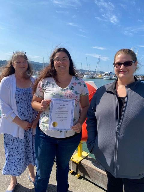 Brittney Kerl, Treena Kiefer, and Kristina Courtney – July Employees of the Month